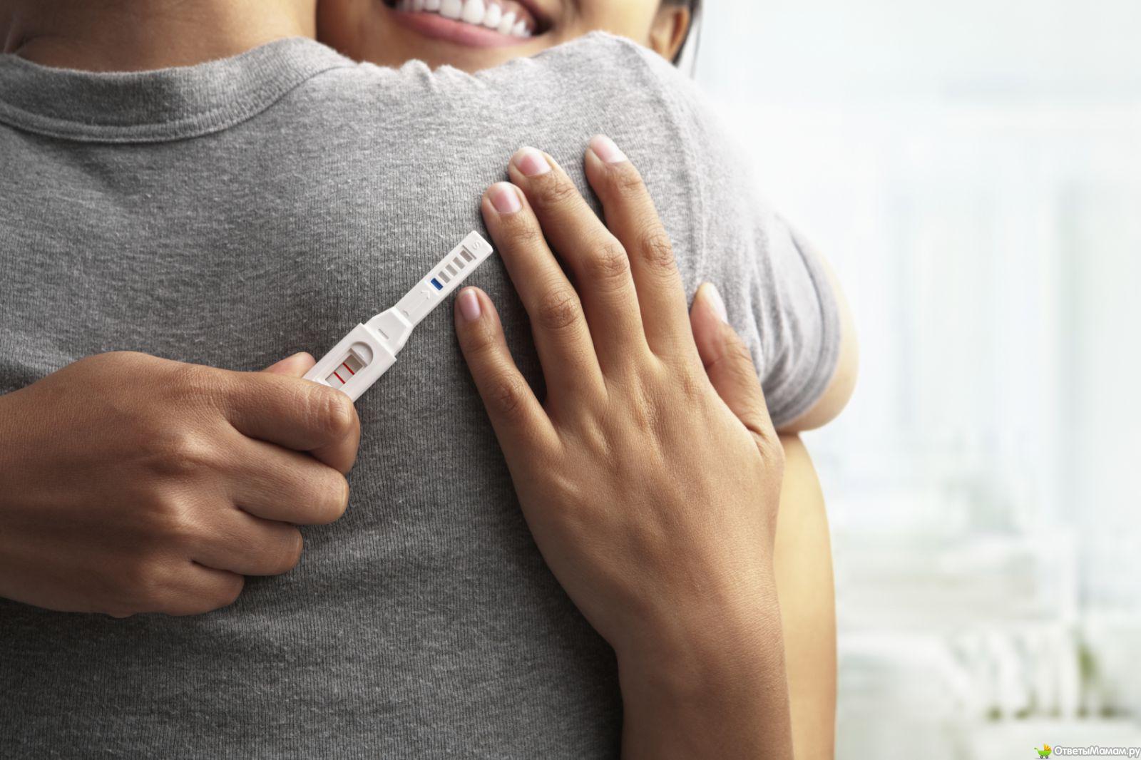 При каком сроке беременности тест показывает положительный результат - 2cd