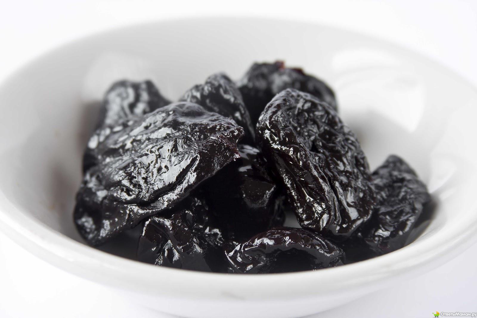 Как употреблять чернослив при грудном вскармливании