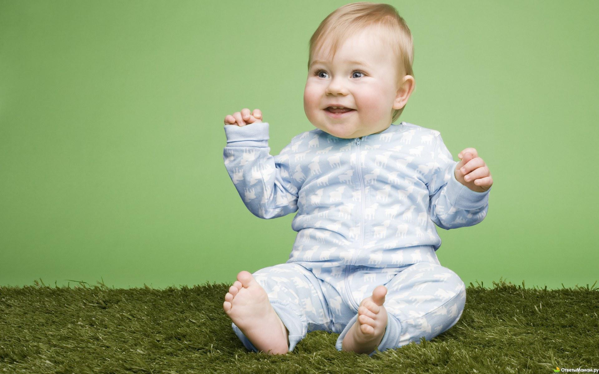Как садится ребенок первый раз фото