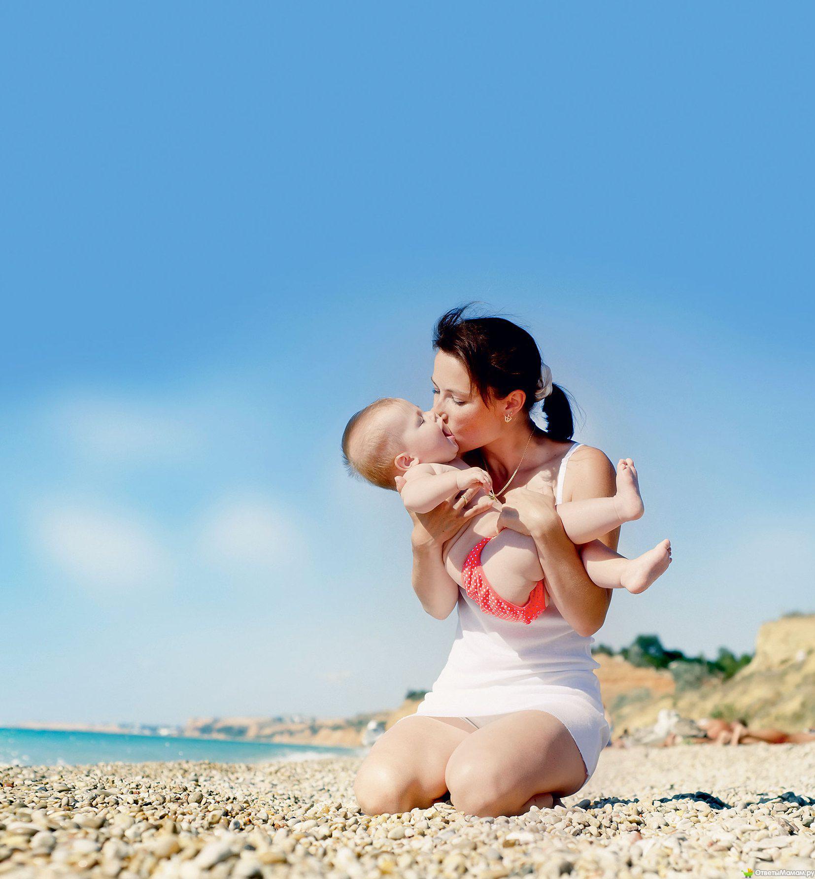 Удачные фото с ребенком