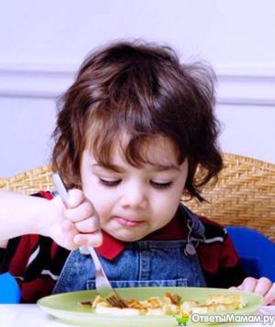 Правильное питание ребенка 3 года