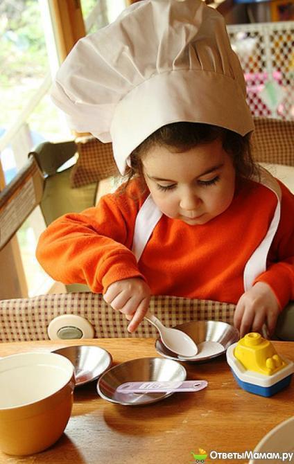 Правильное питание ребенка года до двух