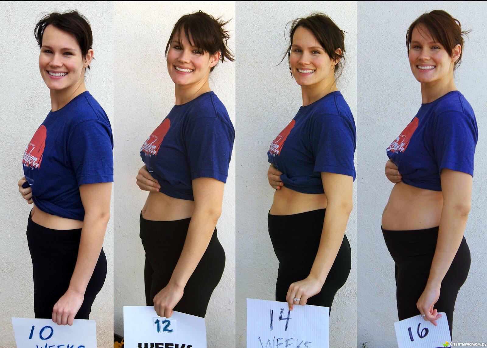 Тянет живот на 11 неделе беременности