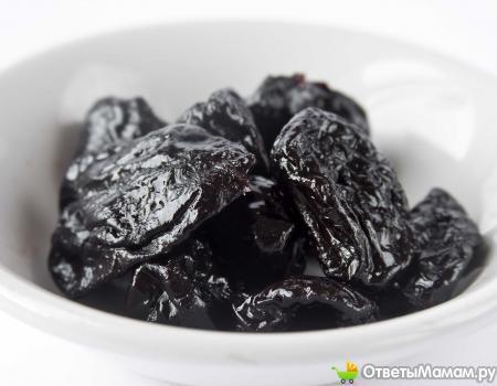 Можно ли кушать чернослив и другие сухофрукты при лактации?