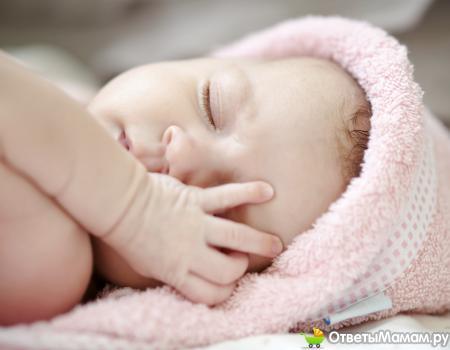 Молочница у грудных детей