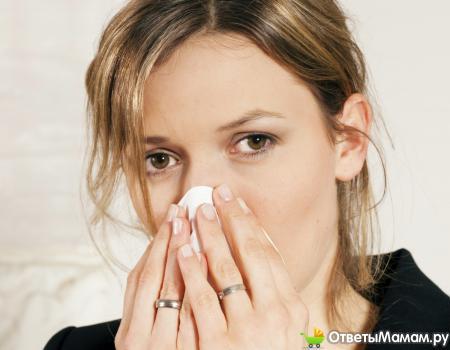 Носовое кровотечение у беременных женщин