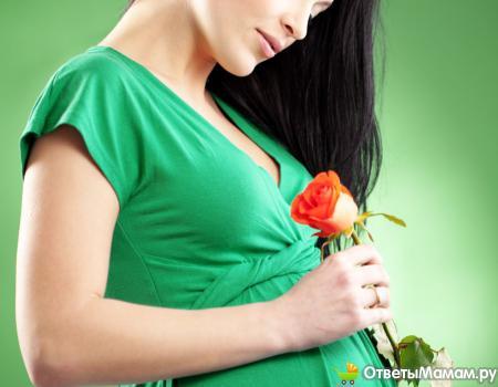 Выделения на 35 неделе беременности