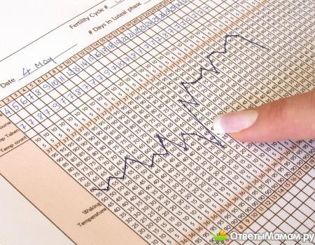 Как составить график базальной температуры?