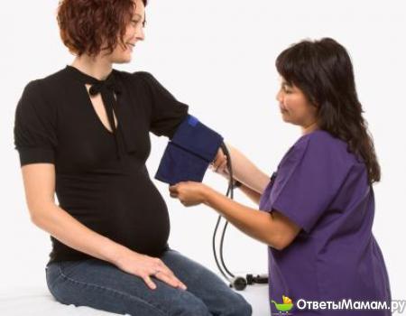 препараты от повышенного давления для беременных