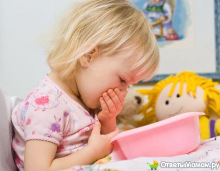 почему бывает рвота у ребенка