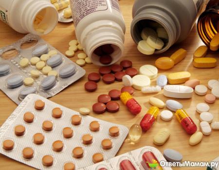 неконтролированный прием лекарственных средств