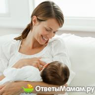 Стул ребенка на грудном вскармливании