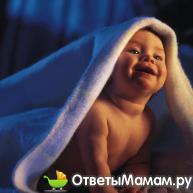 Уход за кожей ребенка после купания