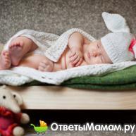 Вздрагивание во сне ребенка