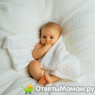 Высокая температура без признаков простуды у малыша