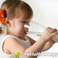 Сколько воды нужно пить ребенку?