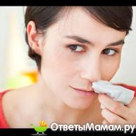 кровь из носа