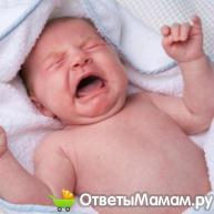 Что делать, если болит животик у новорожденного