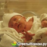 Острая асфиксия новорожденного – удушье при рождении