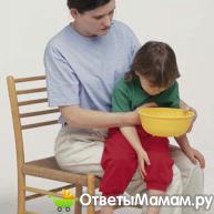рвота у ребёнка 3 года