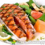 Красная рыба - отличный ужин