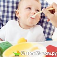 свежие овощи и фрукты для ребенка