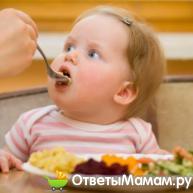 чем кормить ребенка в 1 год