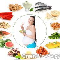 25 неделя беременности, диета