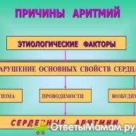 прчины аритмии