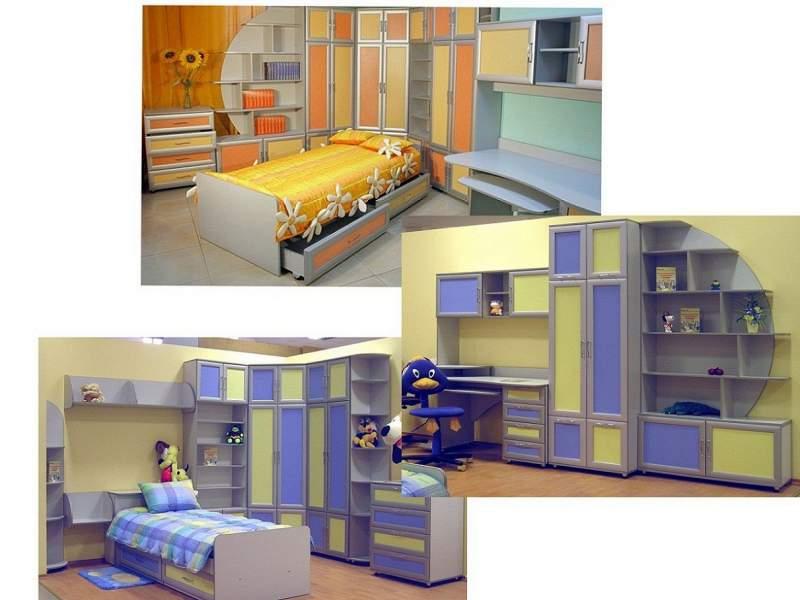 Детская корпусная мебель в смоленске