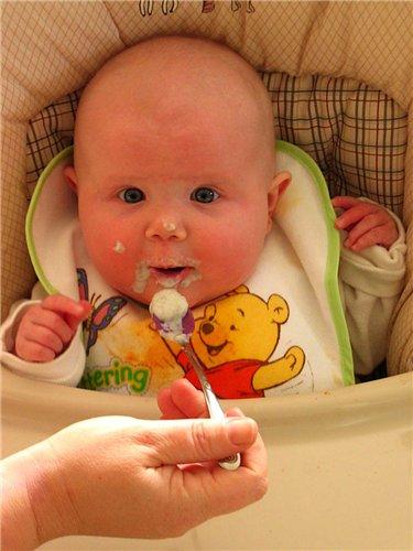 когда прикормка младенца