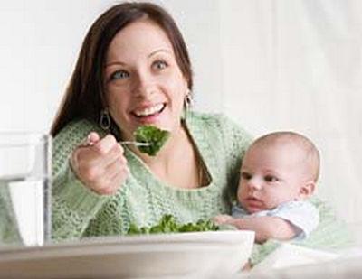 что можно есть кормящей матери: